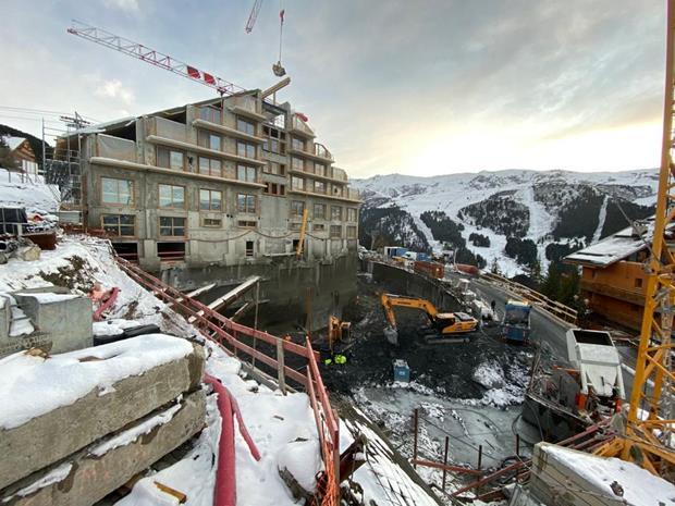 En direct du chantier Antarès